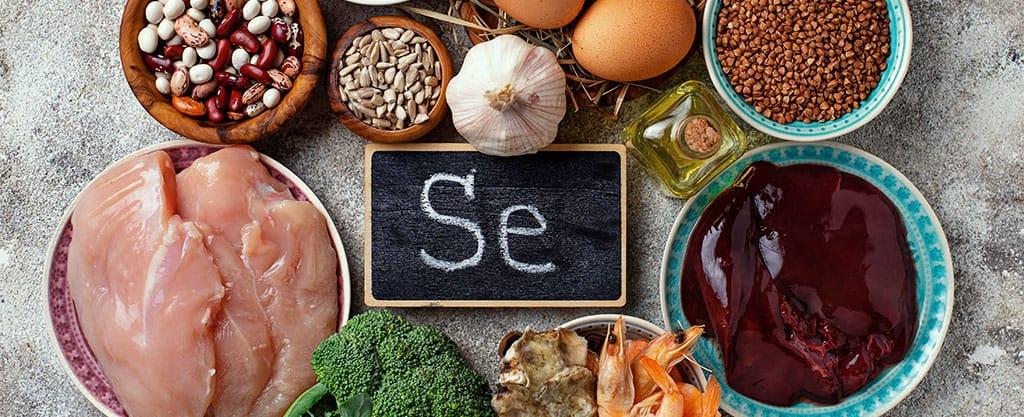 déficit de selenio dietas veganas